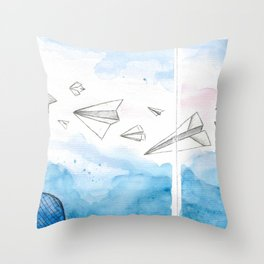 The Dreaming Engineer IIa Throw Pillow