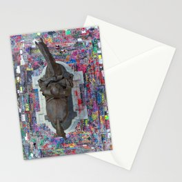 BLM - Robert E Lee Statue Stationery Cards