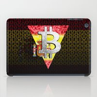 spain iPad Cases featuring bitcoin spain by seb mcnulty