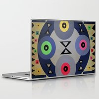 ferris wheel Laptop & iPad Skins featuring Ferris wheel by simay