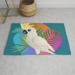 White Cockatoo Rug