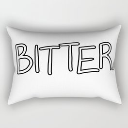 Bitter Rectangular Pillow