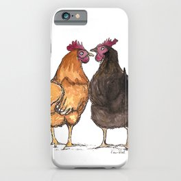 Two Hens iPhone Case