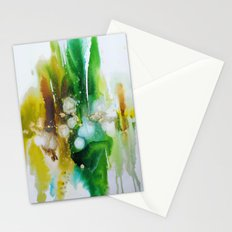emeraude ombré Stationery Cards