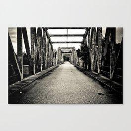 Au bout du pont. (VACANCY Zine) Canvas Print