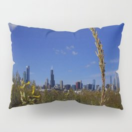 Chicago, the Prairie City (Chicago Northerly Island) Pillow Sham