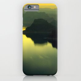Lake Powell sunset iPhone Case