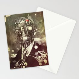 Portrait of nostalgia Stationery Cards
