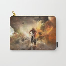 Extreme Motocross Wheelie Carry-All Pouch
