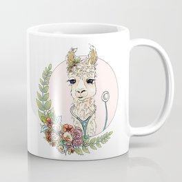 Healthcare Llama Coffee Mug