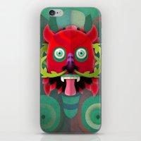 diablo iPhone & iPod Skins featuring Diablo by Blanca Limón