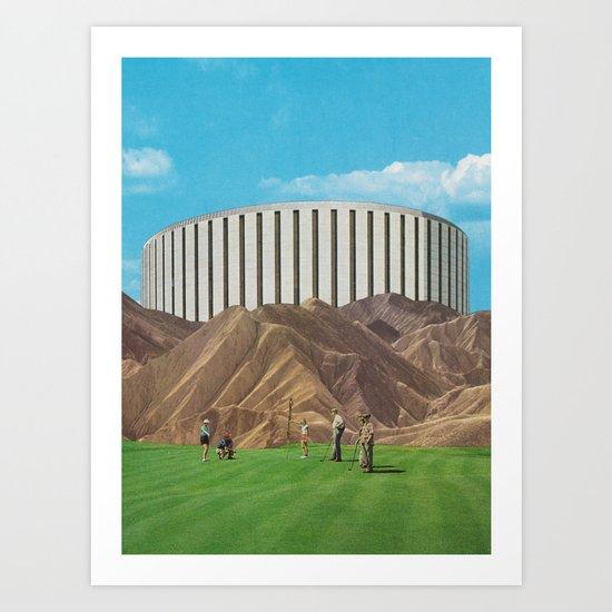 Golfers Art Print