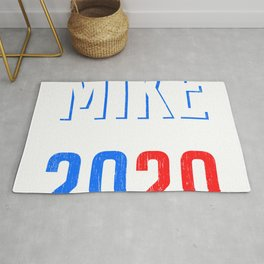 Mike Bloommberg 2020 Campaign For President T-shirt Design Presidency Politics White House Election Rug