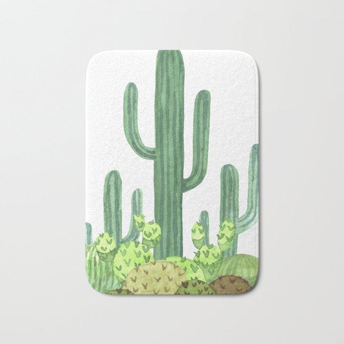 Cactus Desert Bath Mat