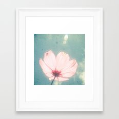 I am Happy Framed Art Print