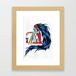 Voodoo Elf Framed Art Print