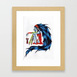Voodoo Elf Framed Art Print