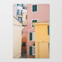 Colours of Cinque Terre, Italy Canvas Print