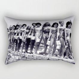 Miss Festival de Cannes 1956 Rectangular Pillow