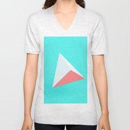 Pyramide Unisex V-Neck