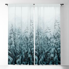 Winter Forest Blackout Curtain