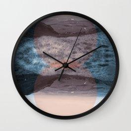Blue Denny Wall Clock