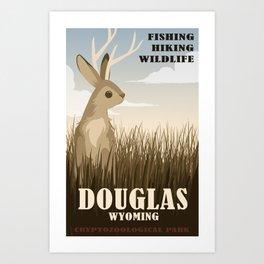 CPS Douglas, WY Art Print