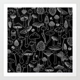 Marcella Mushrooms Kunstdrucke