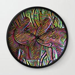 TemboTatu 2 Wall Clock