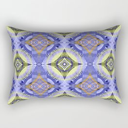 Star Modern Glow Print Rectangular Pillow