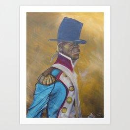 Toussaint Louverture Art Print