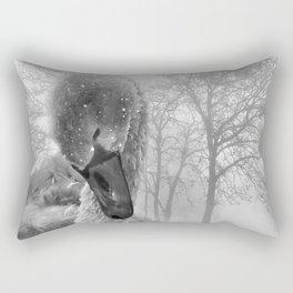 Baby Swan Rectangular Pillow