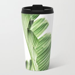 Banana leaves, Leaf, Plant, Modern, Wall Art, Tropical Travel Mug