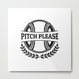 Pitch Please Metal Print
