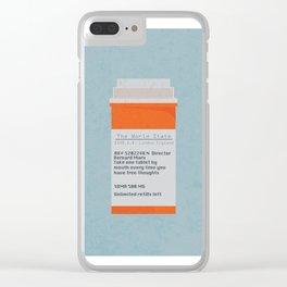 Brave New World Prescription Clear iPhone Case