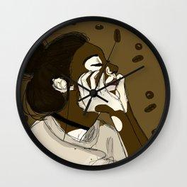 Coffee and Cream Wall Clock