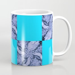 Season of the Square - Light Blue Check Coffee Mug
