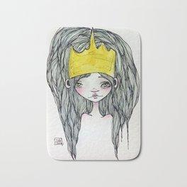 Crowned Princess Bath Mat