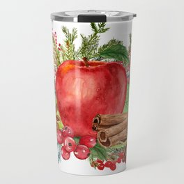 Apple Bouquet Travel Mug