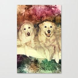 Bryn & Bailey Canvas Print