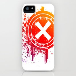 X vector iPhone Case