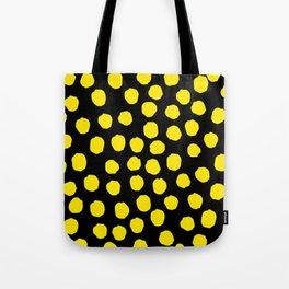 Dots - Yellow Tote Bag