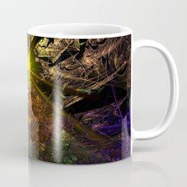 Machu Picchu 3D Fractal Coffee Mug