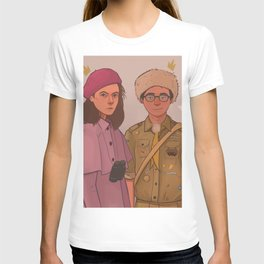Sam and Suzy (Moonrise Kingdom by Wes Anderson) T-shirt