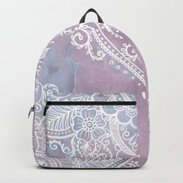 PASTEL MARBLE MANDALA Backpack