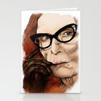 coven Stationery Cards featuring Myrtle Snow || Don't be a hater, dear (from American Horror Story: Coven) by PandaToyz