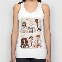 potter Tank Tops featuring Potter - Malfoy by CaptBexx