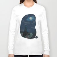 cookie monster Long Sleeve T-shirts featuring Cookie monster by David Pavon