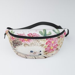 Camouflage - Hedgehog and Cactus Fanny Pack