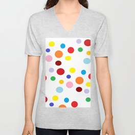 circle me with love Unisex V-Neck
